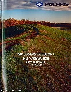 9922525 2010 Polaris Ranger 800 XP HD CREW 6x6 Side by Side Service Manual