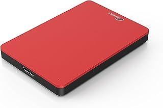 Sonnics Externe draagbare harde schijf, USB 3.0, 320 GB, rood, supersnelle overdrachtssnelheid voor gebruik met Windows P...