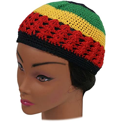 56042cbac18 Shoe String King SSK Knit Kufi Hat - Koopy Cap - Crochet Beanie