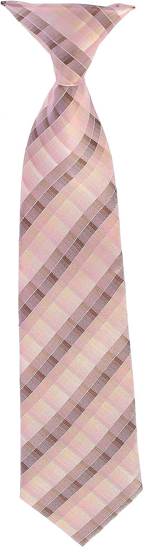 Bow Tie and Hanky Gioberti Boys Long Sleeve Dress Shirt Plaid Tie