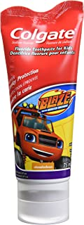 Colgate Kids Anticavity Fluoride Toothpaste, Boys Mixed Characters, 75 Milliliters (Colours Vary)