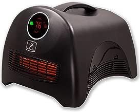 Heat Storm HS-1500-ISA Portable Infrared Heater, 1500 watts, Sahara Black