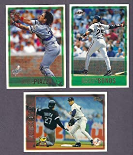 1997 Topps Baseball Complete Hand Collated Set 495 Cards Contains Stars Such As Derek Jeter, Mike Pizza, Barry Bond, Cal Ripken, Ken Griffey Jr and Many More