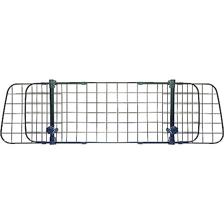 Sakura SS5259 - Barrera Protectora de Coche para Perros, para Reposacabezas, Colocación Sencilla en la Mayoría de Vehículos, Altura y Anchura Ajustable, sin Necesidad de Herramientas
