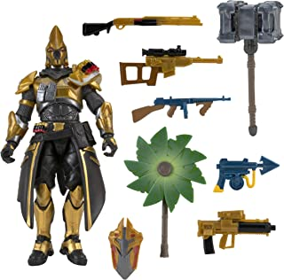 Fortnite Ultima Knight Hot Drop Figure - 4 Inch Action Figure with 25+ Points of Articulation - Includes Vanquisher Harves...