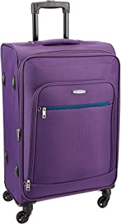 VIP Polyester 115 L Purple Soft-Sided Check-in Luggage