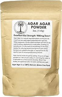 Agar Agar Powder 5 Ounces - Excellent Gel Strength
