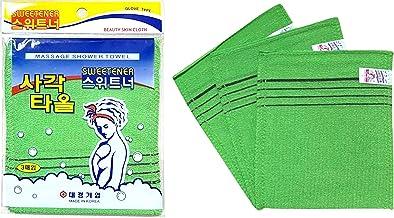 2 colors Korean Italy Exfoliating Body-Scrub Glove Towel Green Red S IS5 FEJJCU