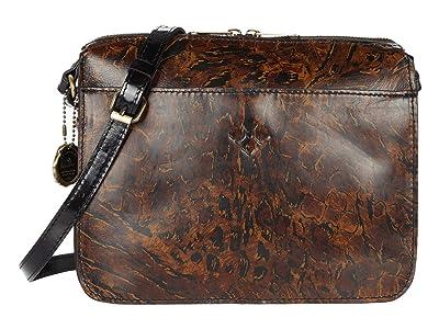 Patricia Nash Nazaire Top Zip (Abstract Animal) Bags