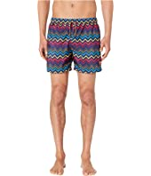 Missoni Mare - Printed Nylon Zigzag Swimsuit