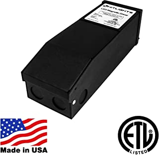 HitLights 150 Watt Dimmable LED Driver, 12V Magnetic LED Driver Transformer – 110V AC – 12V DC LED Transformer. Compatible with Lutron and Leviton for LED Strip Lights, Constant Voltage LED Products