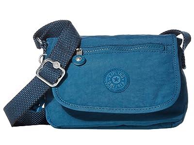 Kipling Sabian Crossbody Mini Bag (Mystic Blue) Handbags
