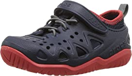 eb248355a3fb Crocs Kids Swiftwater Easy-On Heather Shoe (Toddler Little Kid) at ...