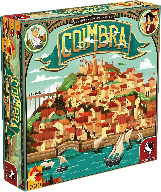 Pegasus Spiele 54564G - Coimbra B079FGSYGL Einzigartig  | Treten Sie ein in die Welt der Spielzeuge und finden Sie eine Quelle des Glücks