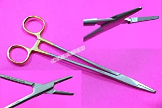New Premium German Stainless TC Mayo HEGAR Needle Holder Driver 8 Inches with Tungsten Carbide Inserts