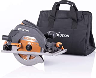 Evolution Power Tools R185CCSX+ Multi-Material Circular Saw, 1600 W, 230 V-Domestic