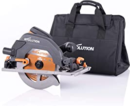 Evolution Power Tools R185CCSX+ Multi-Material Circular Saw, 1600 W, 230 V-Domestic