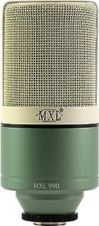 MXL Condenser Microphone, XLR, Green (990SURF)