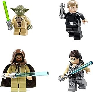 LEGO Star Wars: Jedi Lot #2 - Luke Skywalker, Rey, OBI Wan & Yoda