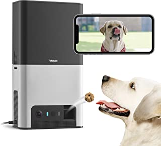 [New 2020] Petcube Bites 2 Wi-Fi Pet Camera with Treat Dispenser & Alexa Built-in, for Dogs and Cats. 1080p HD Video, 160°...