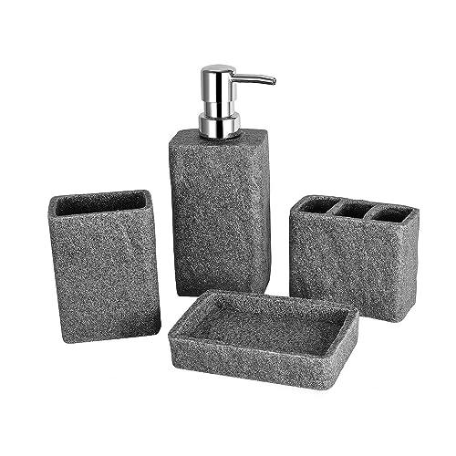 Stone Bathroom Accessories: Amazon.co.uk