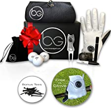Boxed Golf Premium Golf Gifts for Men & Women Best Personal Gift Box | Complete Golfing Set with Accessories - Unique Gift Baskets Idea for Golfers Birthdays - Great Fathers Day Basket for Dad