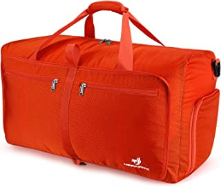 1d3c56435e NEEKFOX Foldable Travel Duffel Bag Large Sports Duffle Gym Bag Packable  Lightweight Travel Luggage Bag for