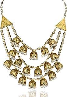 Sansar India Multi Strand for Women (Golden) (1290)