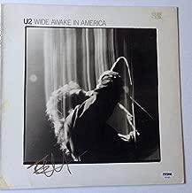 the Edge signed U2 Album wide awake in america autographed psa dna coa
