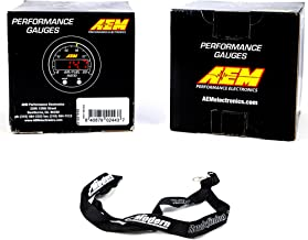 AEM 300F 52mm Oil/Trans/Water Temperature Coolant & Wideband AFR Gauge Kit