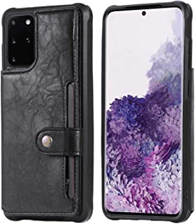 Flip Case for iPhone X, black PU Leather Wallet Cover (Compatible with iPhone X)