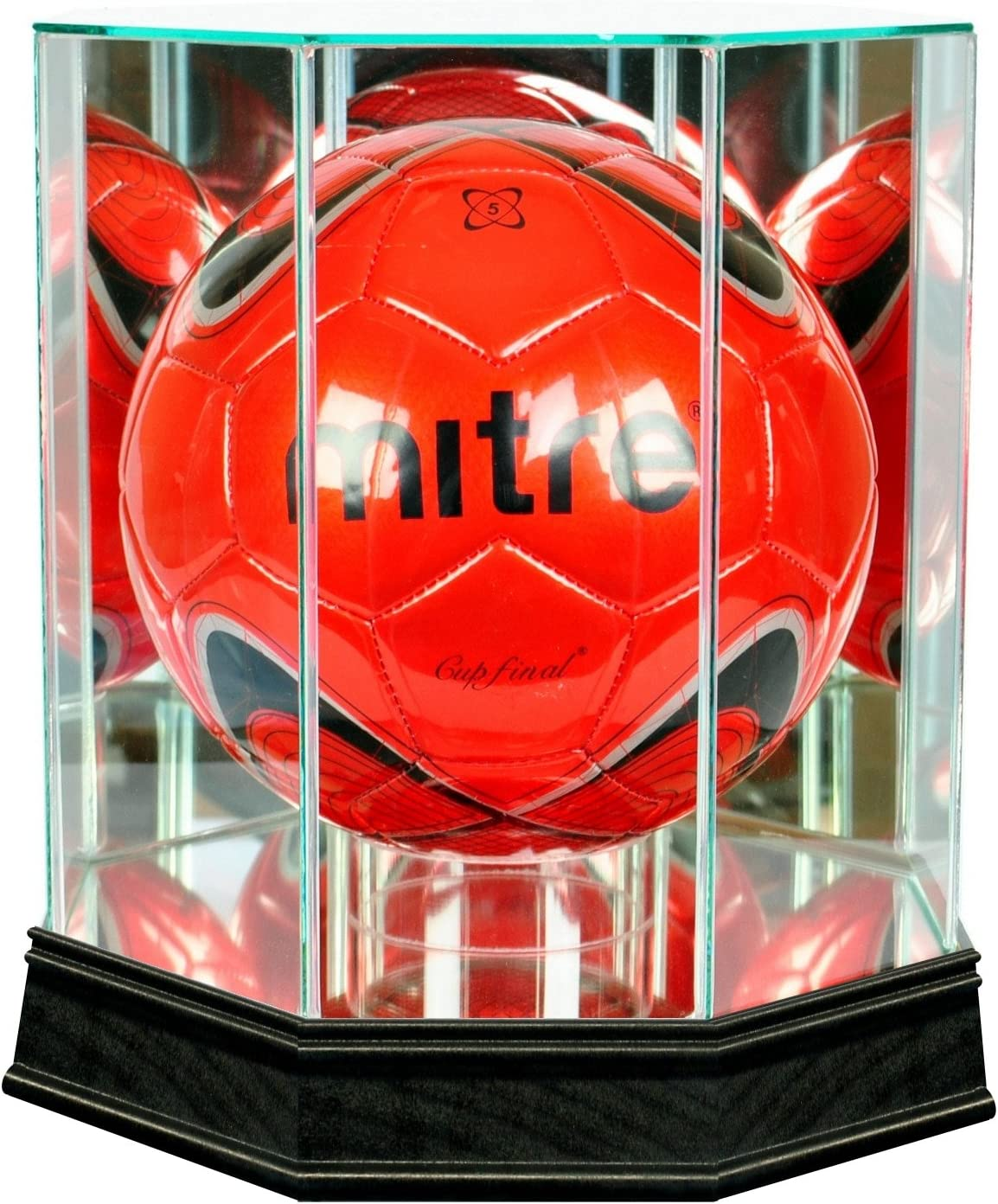 San Francisco Mall Perfect Award-winning store Cases Soccer Display Moulding Sport Case with