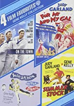 4 Film Favorites: Gene Kelly (For Me and My Gal / Invitation to the Dance / On the Town (Sinatra Tribute) / Summer Stock)
