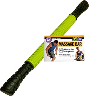 GoFit Recovery and Prevention Massage Bar 18 Inch Portable Roller