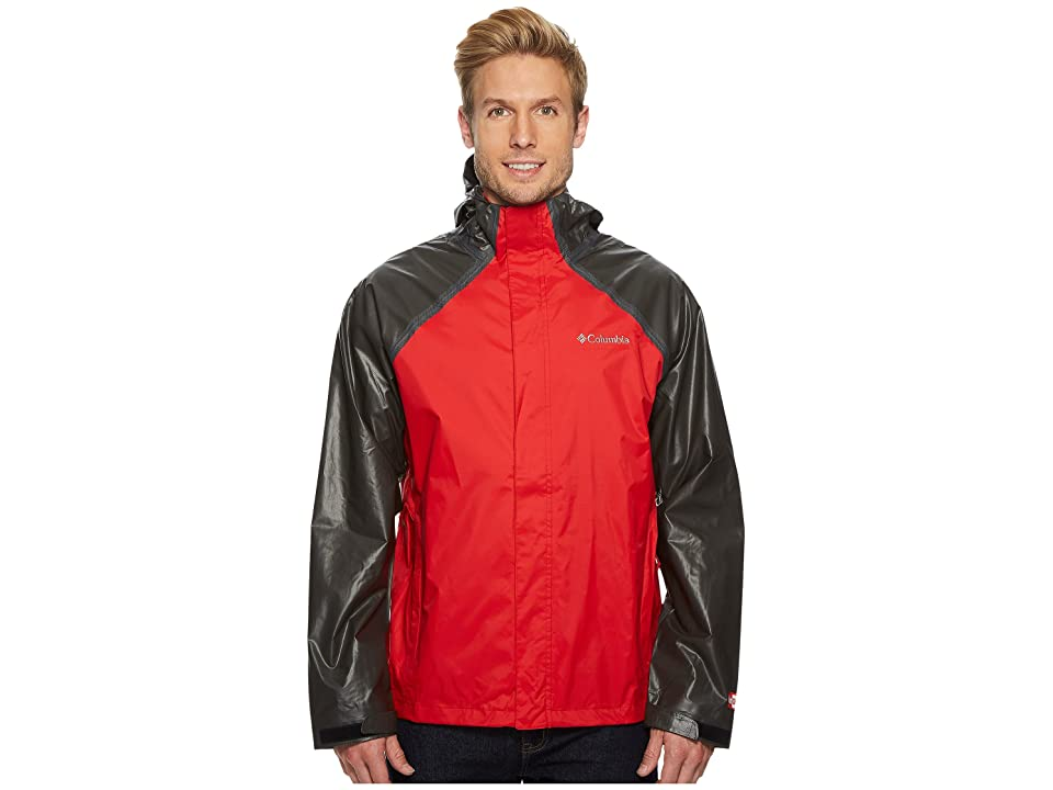 Columbia OutDry Hybrid Jacket (Red Spark/Black) Men