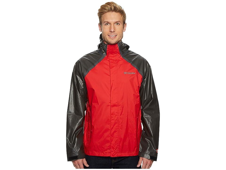 Columbia OutDry Hybrid Jacket (Red Spark/Black) Men
