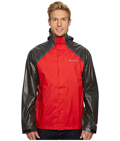 Clearance Store For Sale Original For Sale Columbia OutDry Hybrid Jacket Red Spark/Black Cheap Sale Amazing Price Shopping Online High Quality wuim1Wu