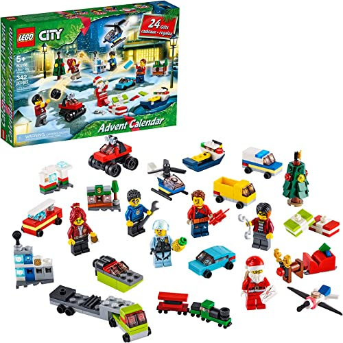 lowest LEGO City 2020 Advent Calendar sale 60268 Playset, Includes sale 6 City Adventures TV Series Characters, Miniature Builds, City Play Mat, and Many More Fun and Festive Features (342 Pieces) outlet online sale