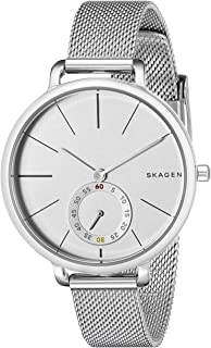 Skagen Denmark Women's Hagen Watch in Silvertone with Mesh Bracelet