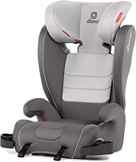 Monterey XT Latch Booster Seat with Expandable Height/Width and 2-in-1 Belt Positioning, Gray Dark