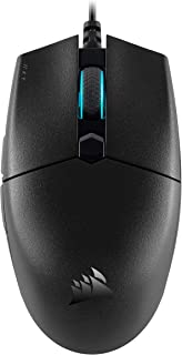 Corsair Katar Pro Ultra-Light Optical Gaming Mouse, Backlit RGB LED, 12400 DPI - Black