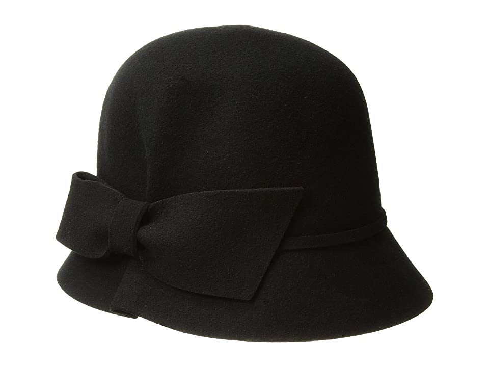 1930s Style Hats | 30s Ladies Hats Betmar Dixie Black Caps $55.00 AT vintagedancer.com