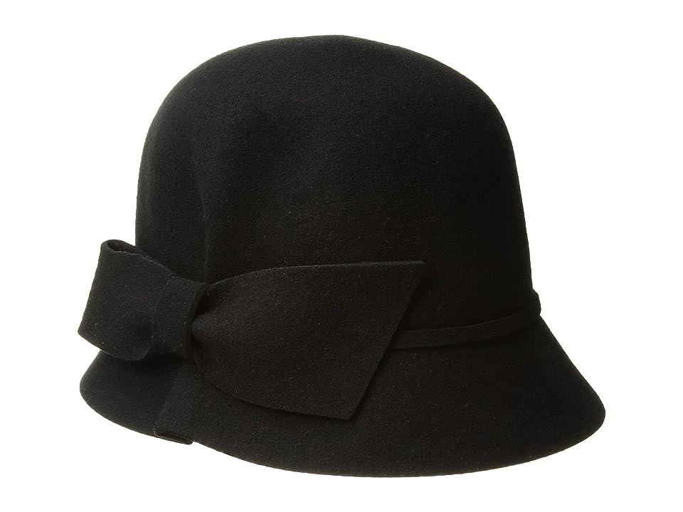 1920s Style Hats Betmar Dixie Black Caps $55.00 AT vintagedancer.com