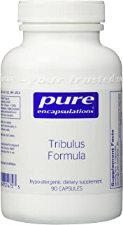 Pure Encapsulations - Tribulus Formula - Hypoallergenic Supplement to Support Normal Testosterone Levels* - 90 Capsules