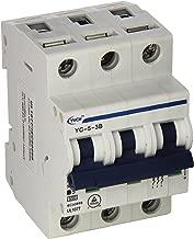 Yc-5-3B Yuco Din Rail Miniature Circuit Breaker 3P 5A B Curve 277/480V 50/60Hz Tuv Ul 1077 European Design Csa C22.2