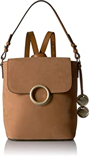Calvin Klein Reese Suede Flap Backpack
