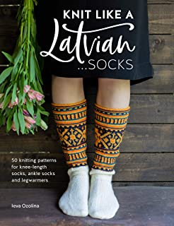knee socks knitting pattern
