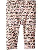 Fendi Kids - All Over Heart Print Leggings (Infant)