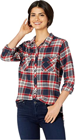 Getting Rad Plaid Long Sleeve