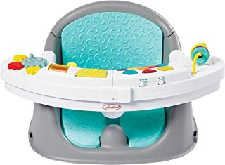 Infantino Music&Lights 3-In-1 Discovery Seat & Booster Activity Feeding Interactive Music Baby/ Child Learning & Development 